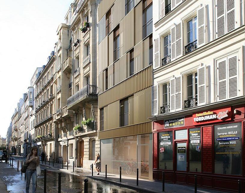 street in Parisby kaupunki