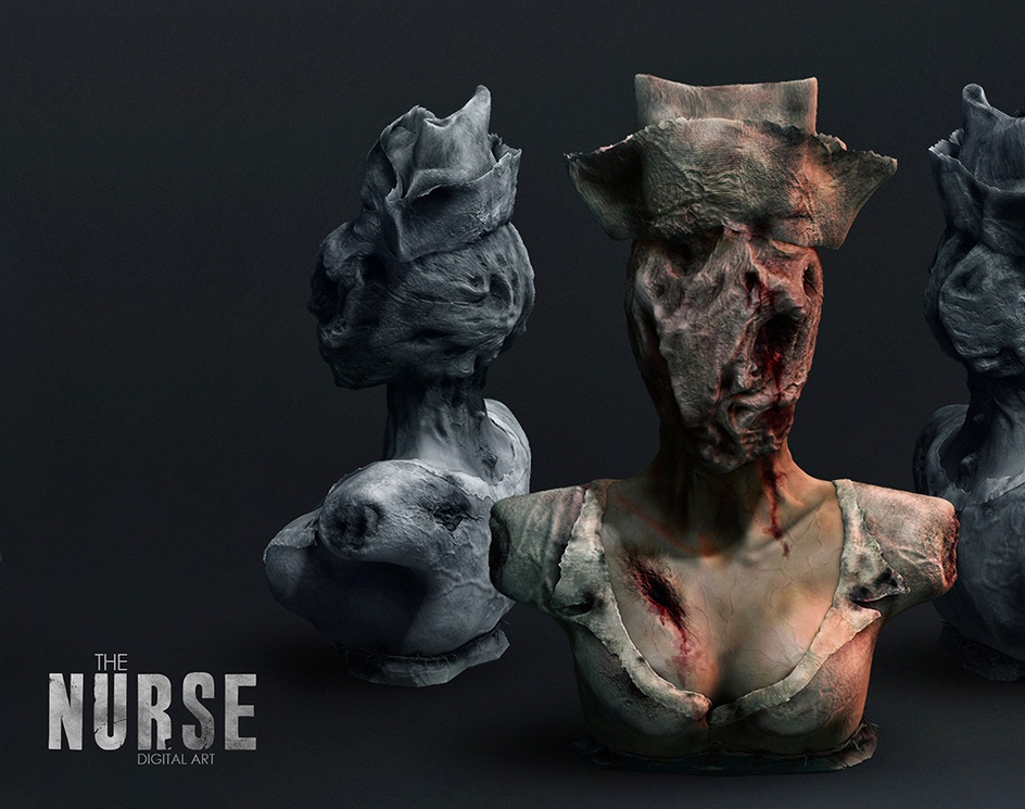 The Nurse of Silent Hillby dizegno