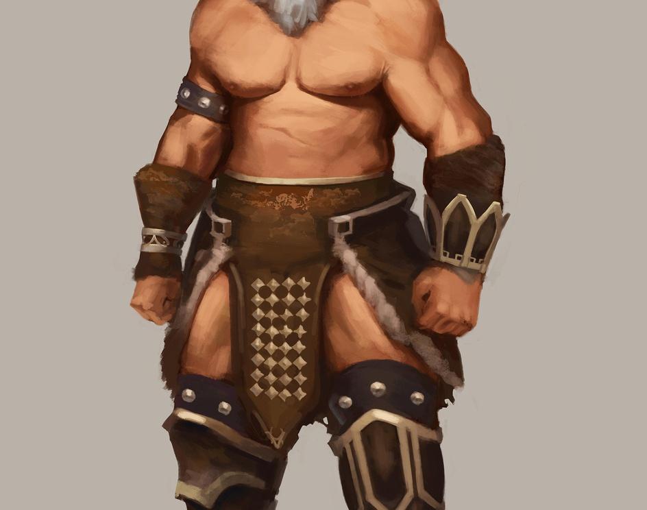 Barbarian designby krasenmaximov