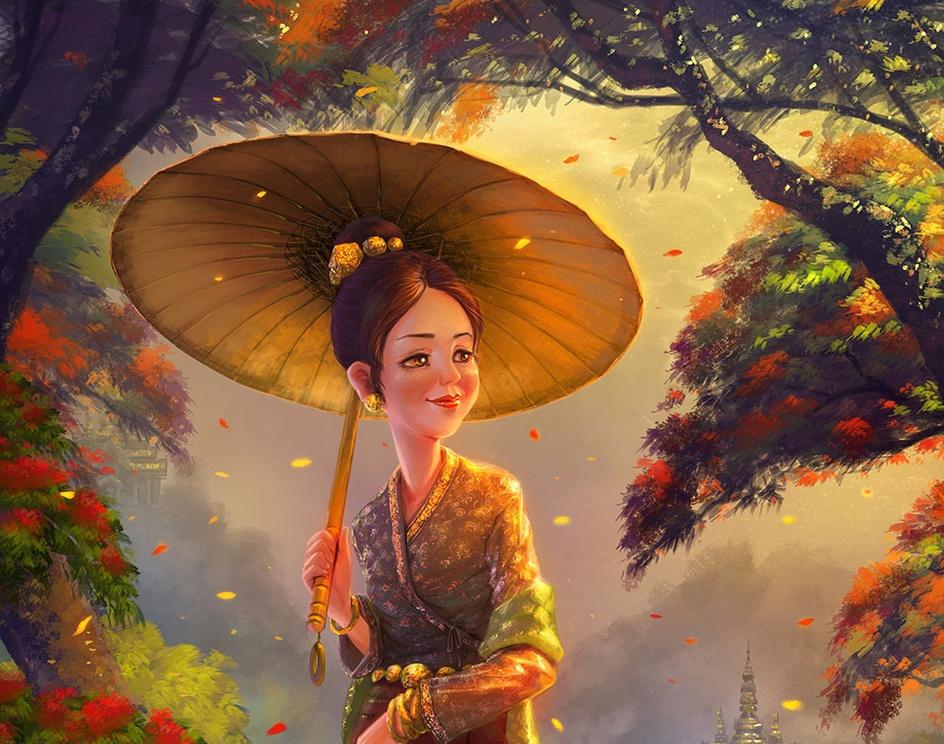 Kyaing Tong Princessby webang111