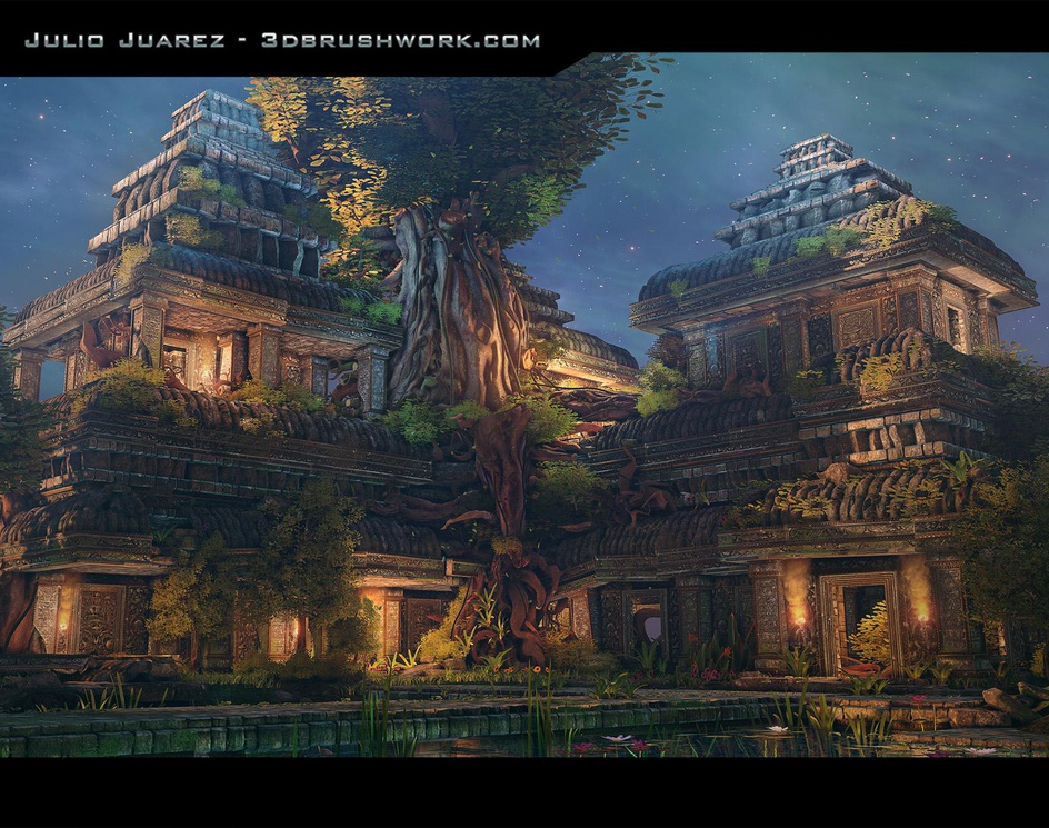 Cambodia Inspired Environmentby 3Dbrushwork