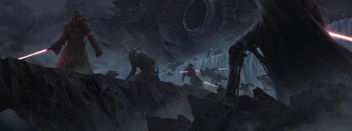 star wars gloomy landscape