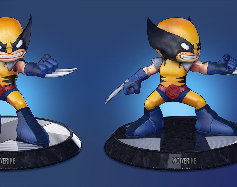 Wolverine - Big Headby Markos Vigil