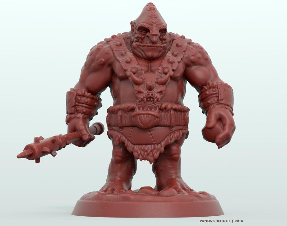 Ogre Miniatureby Panos Cheliotis