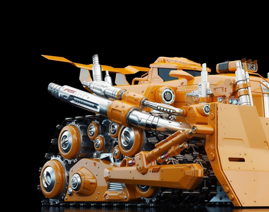 Bulldozer Revival IIby ociacia