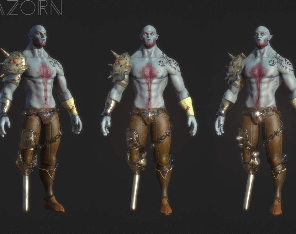 Mazorn Steel-Legged Warriorby patrickvdk