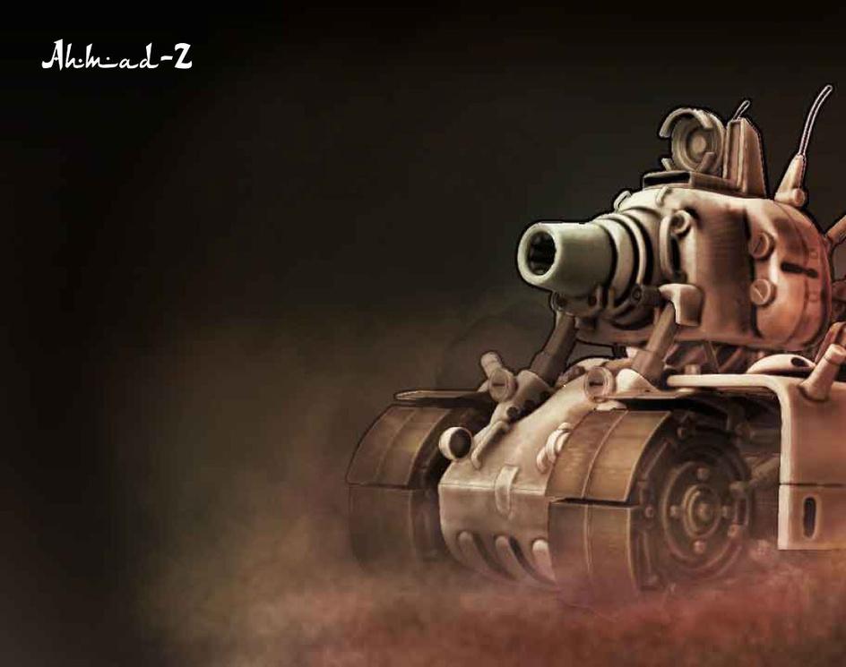 metal slug tankby AHMAD ZANOUNEH