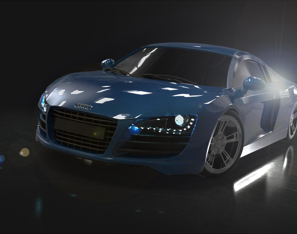 Audi R8by mikeyamor