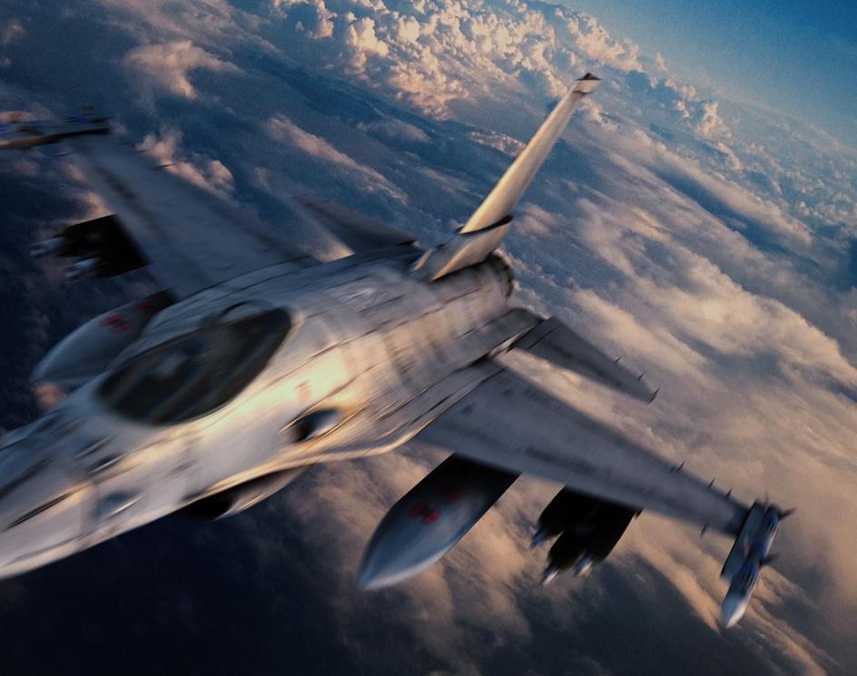 Jet Fighterby Samir Farzalibekov