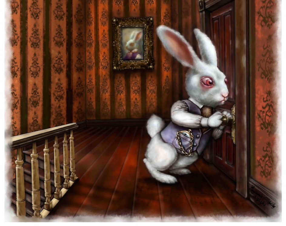 White Rabbitby Benjamin Mitchley