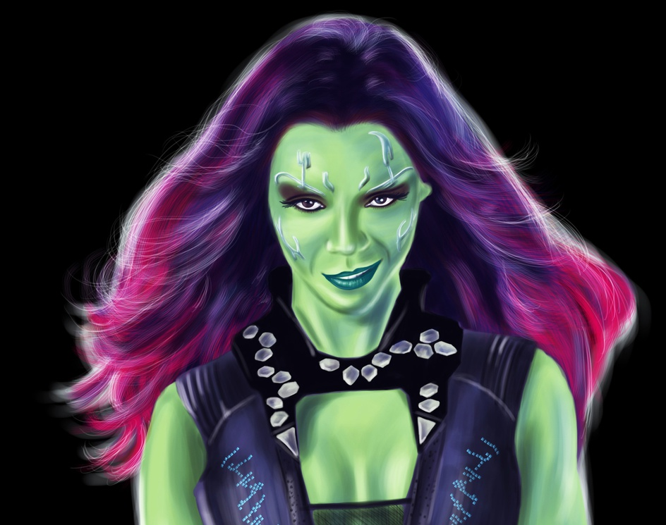 Gamora - Guardians of the Galaxyby WaterFlyBooks
