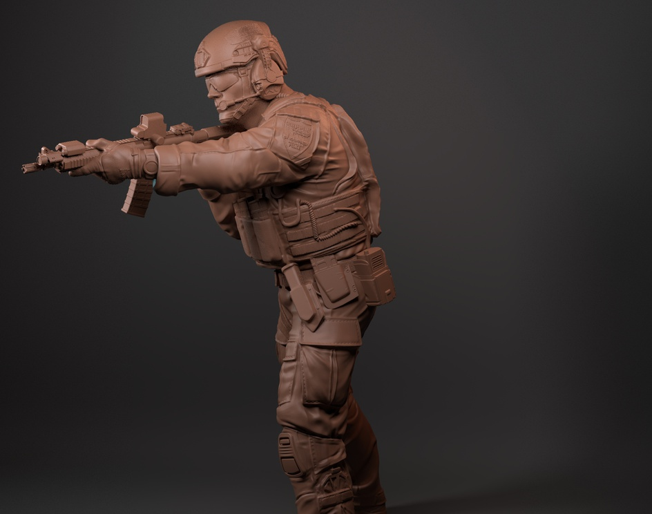 Collectible Soldier.by Thiago Estevao