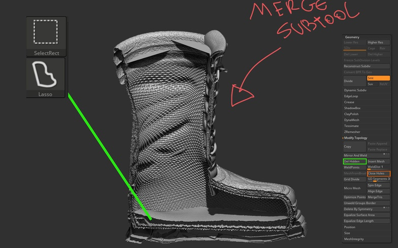 wolverine boots 3d printing