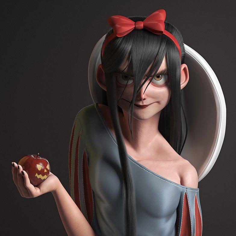 snow white dark side