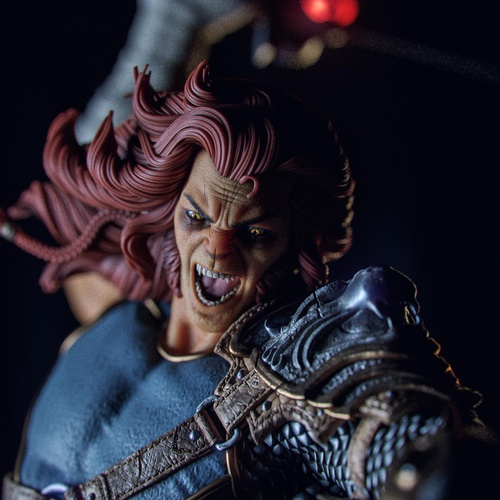 thundercats remastered animated character design physical model design