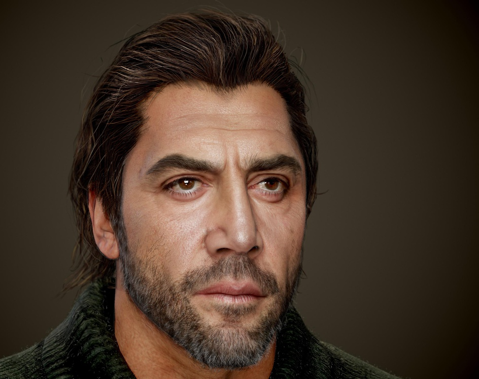 Javier Bardem (Real-time)by Hossein_Diba