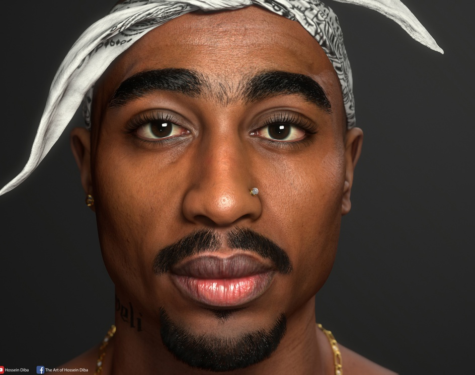 2Pac (Real time)by Hossein_Diba