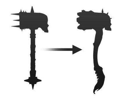 Alexandr Novitskiy fantasy skull warhammer shaping