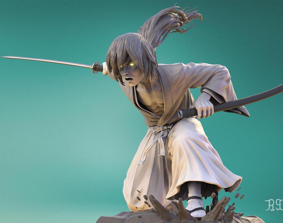 Kenshin Himuraby S M Bonin