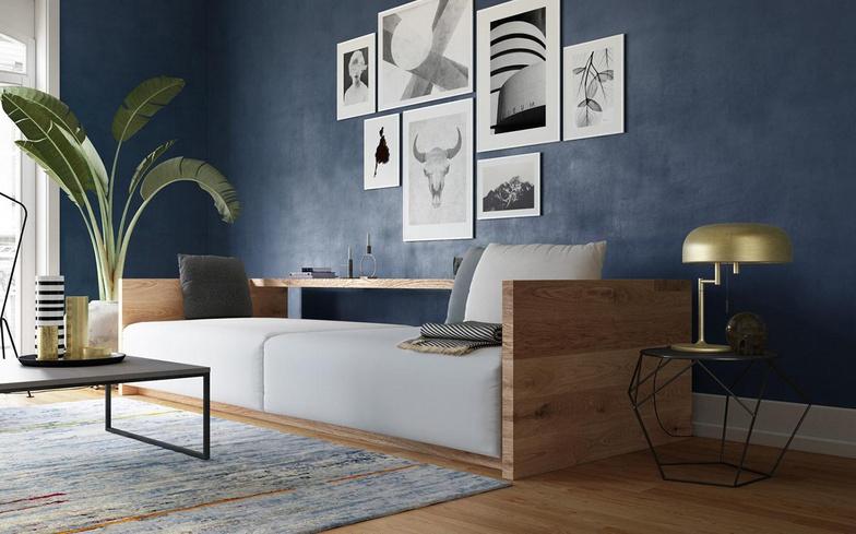 living room 3d environment