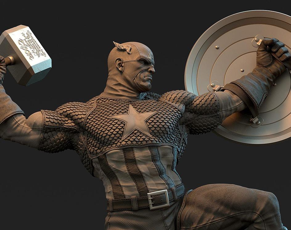Captain Americaby zafarhussain