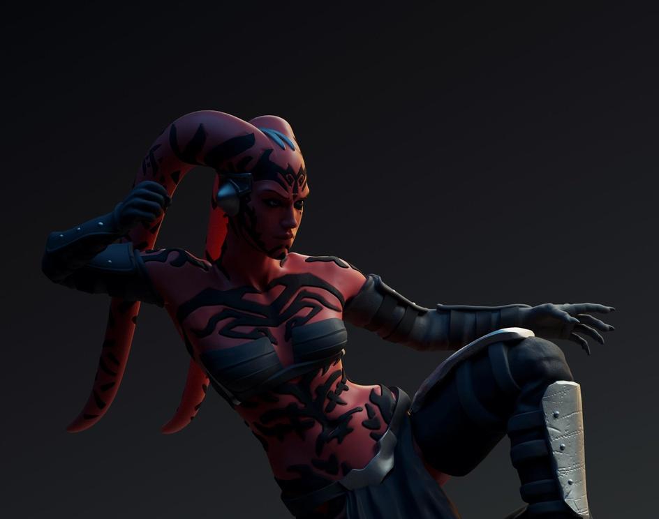 Darth Talon 3D Collectible Statueby Abhik Mitra