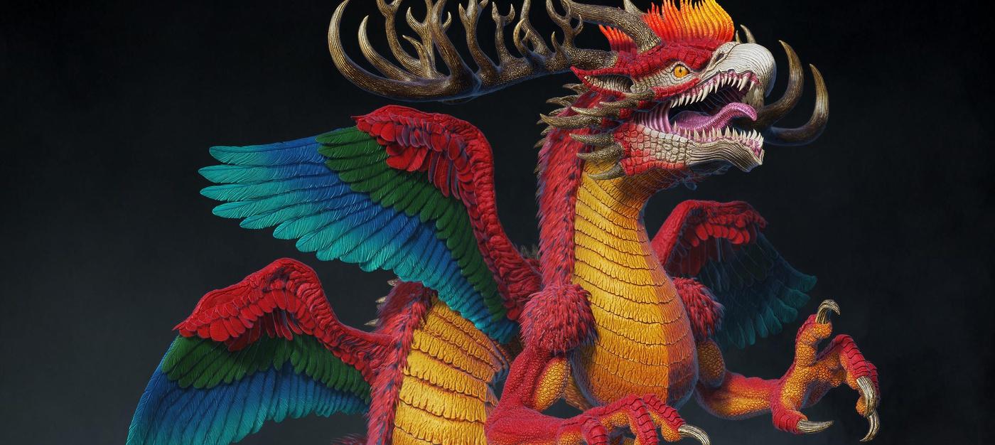 Japanese dragon creature
