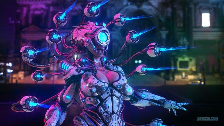 Cyberpunk All Seeing Sue
