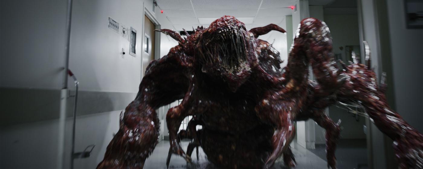 sci-fi monster stranger things