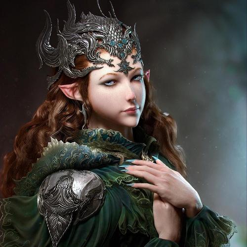 elf fairy princess portrait beauty beautiful
