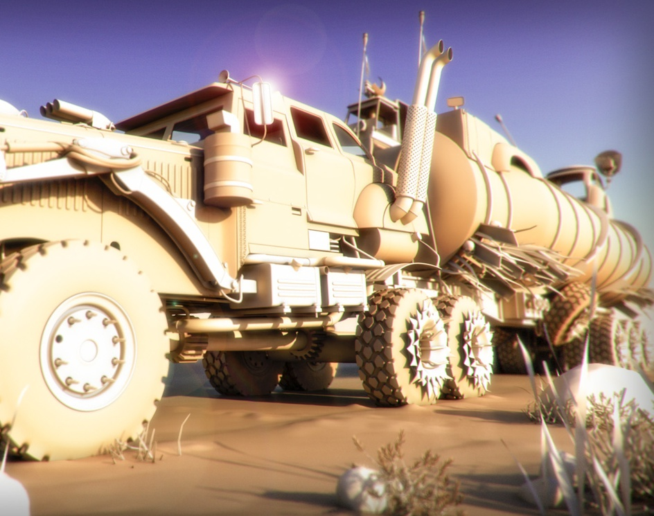 Mad Max Truckby quiros3d