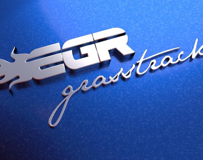 EGR Grasstrack: Final version of logoby brinca