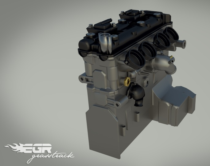 EGR Grasstrack: WIP of engine blockby brinca