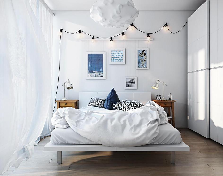 Air bedroom: 3d renderingby Archicgi