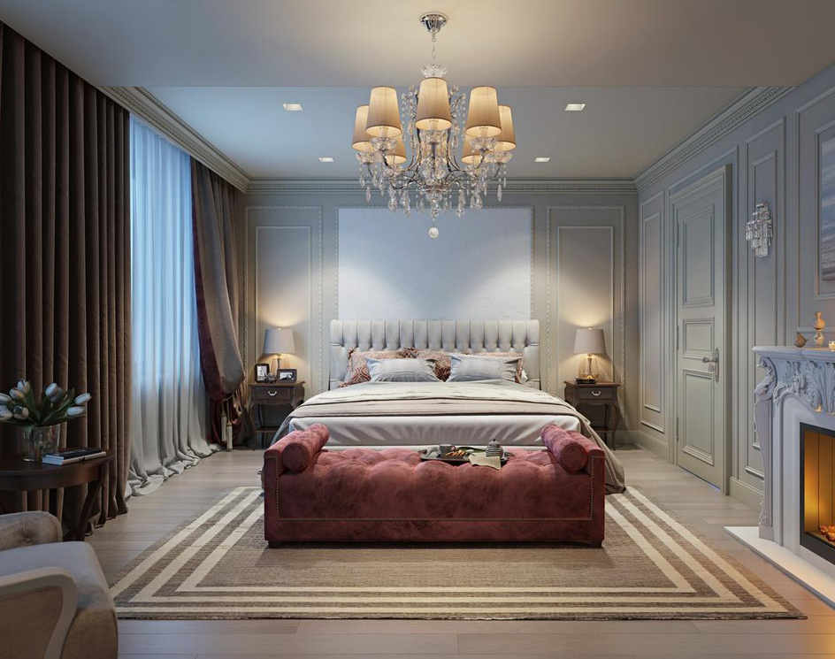 Bedroom: 3D visualizationby Archicgi