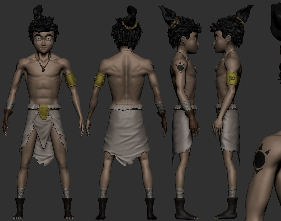 Character 3d for a game in progressby tuon-rj
