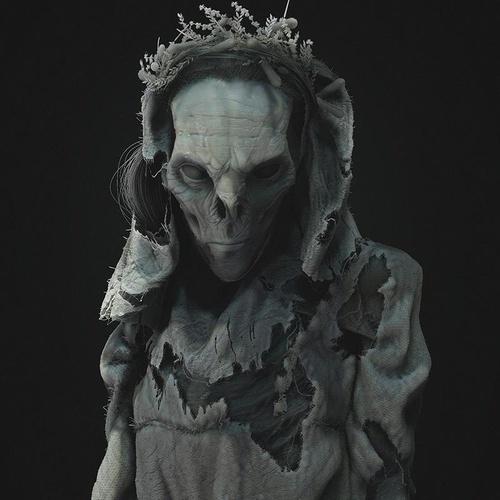 Slavic folklore noonwraith ghost phantom witcher