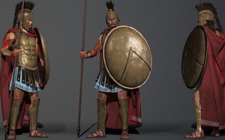 spartan, full body, design, fan art