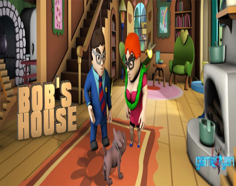 Bob's House – A Cartoon Character Design Studio By GameYan game development companiesby GameYan