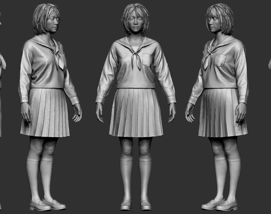 Joshi kōsei Girl (Real-time)by Melvin Okoronkwo