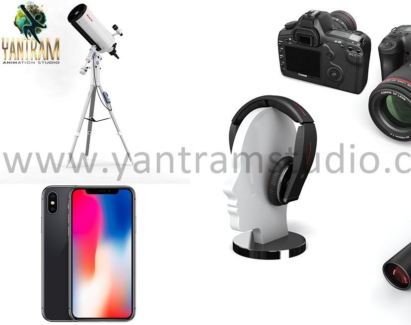 3d Gadgets Rendering - 3d Product visualization services - Wasilla, Alaskaby Ruturaj Desai