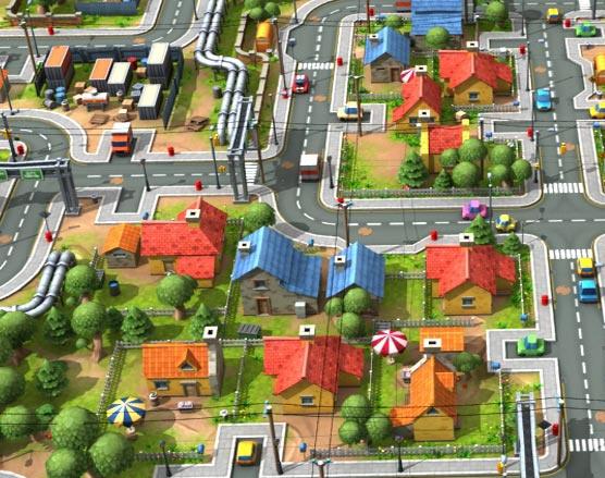 3D GAME ASSET MODELING DESIGN STREET VIEW – CITY DEVELOPMENTby GameYan