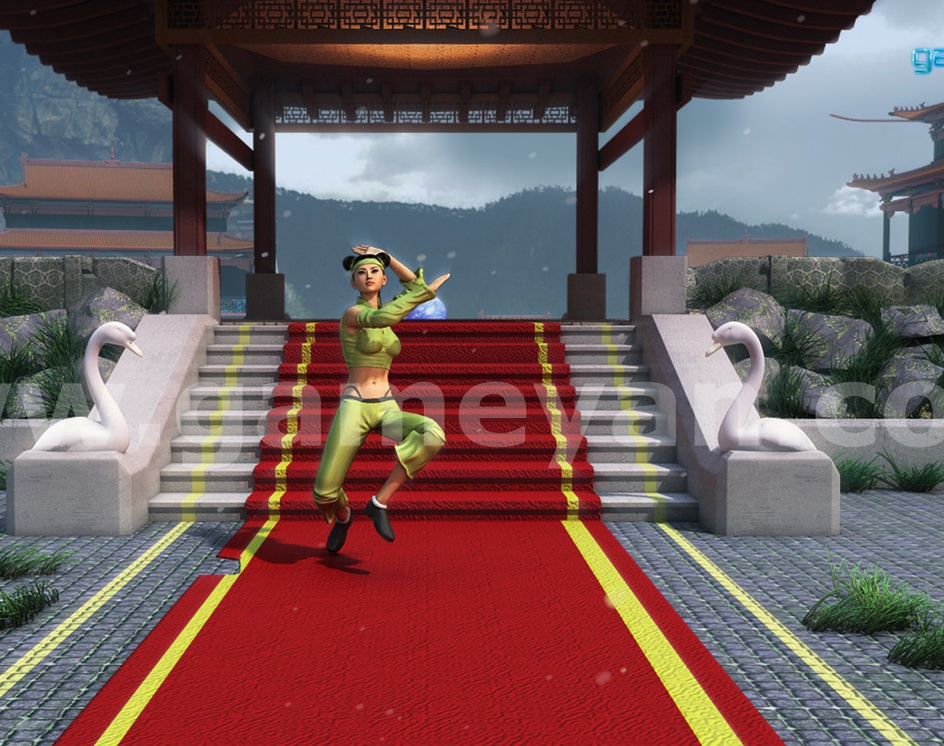 Nikki – 3D Kung-Fu Female Fighter Realistic Character Model By Post Production Animation Studioby GameYan