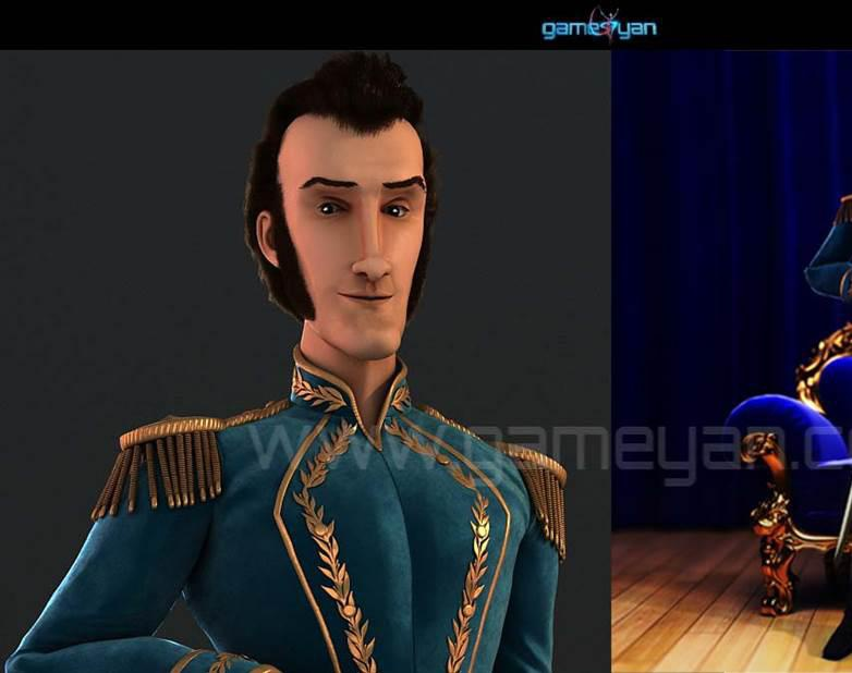 Rome 3D Prince Character Animation Modeling Design By Game Art Outsourcing Studioby GameYan