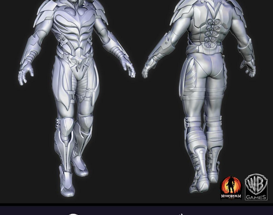 Injustice: Gods Among Us charactersby 3dMob
