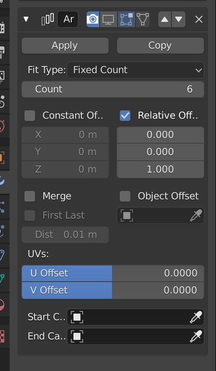 visibility controls modifier individual