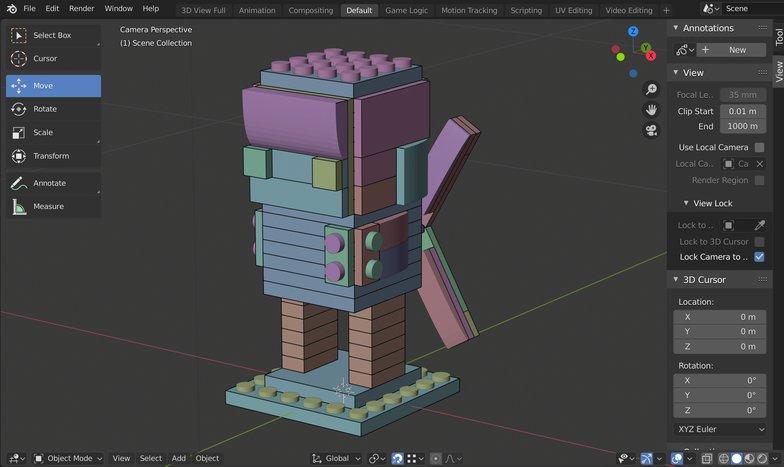 lego character build blender