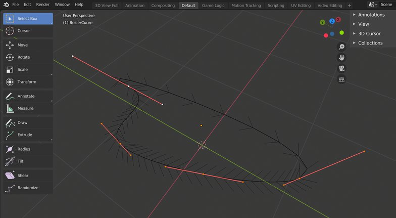 4 pint adjusting curve model render