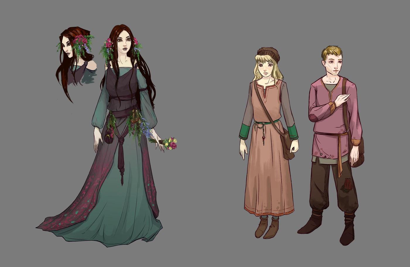 character design digital art design painting 2d