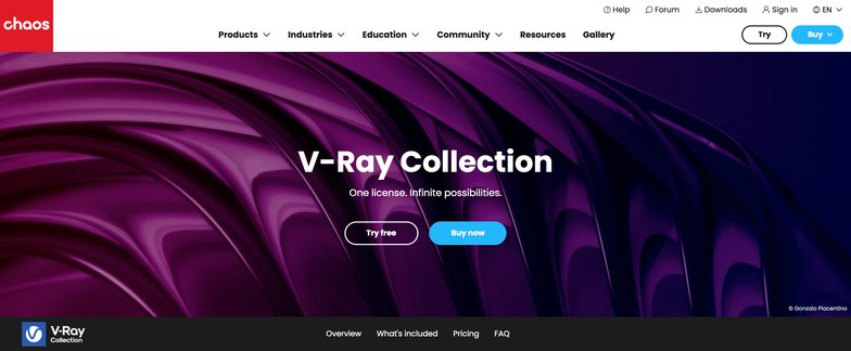 v-ray creating modeling software rendering 3d